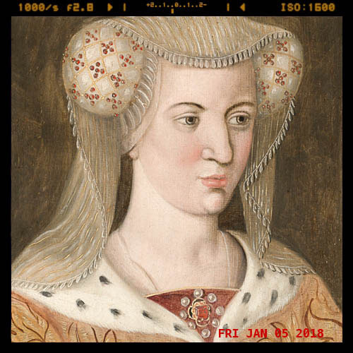 Portrait painting of Jacoba of Bavaria