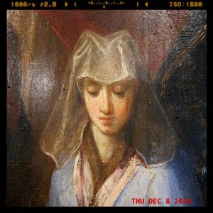 Portrait painting of Joan of Constantinople