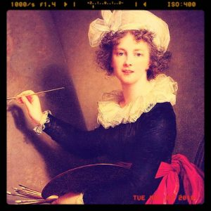 Self-portrait by Vigee Le Brun