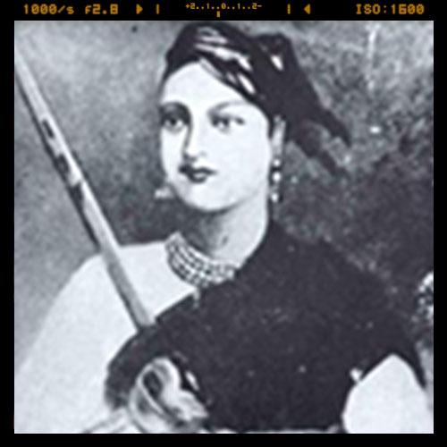 Imprint of Lakshmibai Rani of Jhansi